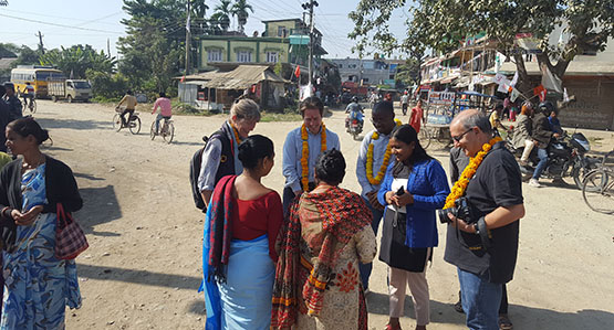 First site visit: Welcome to Nepal (Tapai lai Nepal ma swagat cha)