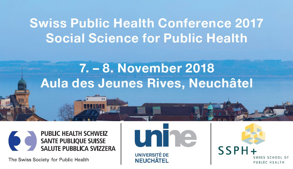COHESION at the Swiss Public Health Conference