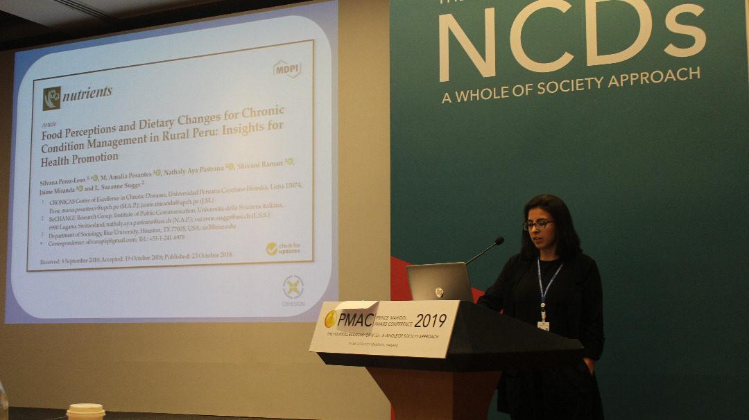 COHESION at the Prince Mahidol Award Conference