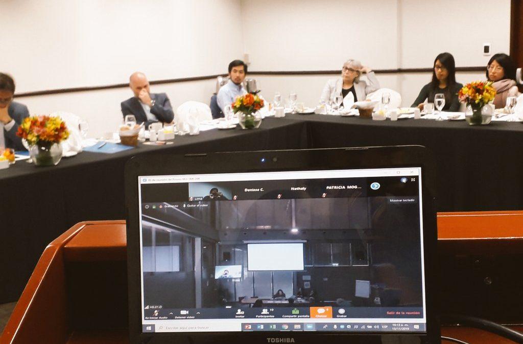 COHESION dissemination events: Geneva – Peru