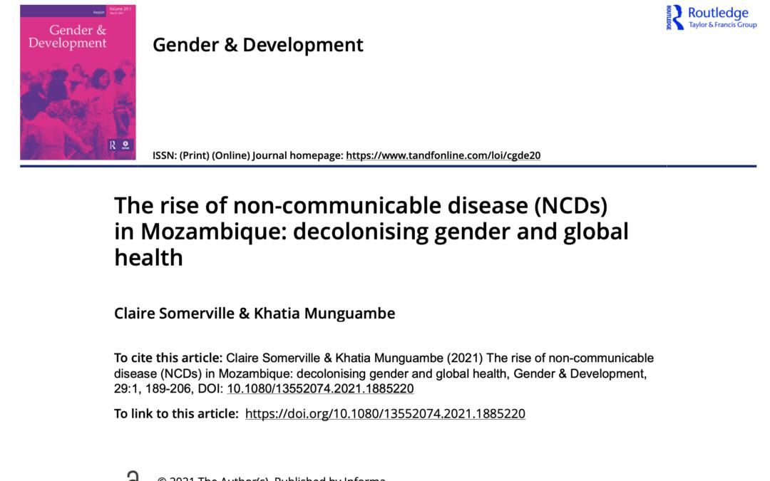 COHESION Publication: Gender & Development